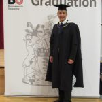 TDSi's Ian Hoare Gains Master's Degree from Bournemouth University