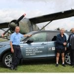 Westover Jaguar Land Rover Military Sales supports Paul Edwards MBE In 135km Charity Solo Run