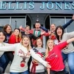 Jump-er to it as law staff don wacky woollies for charity