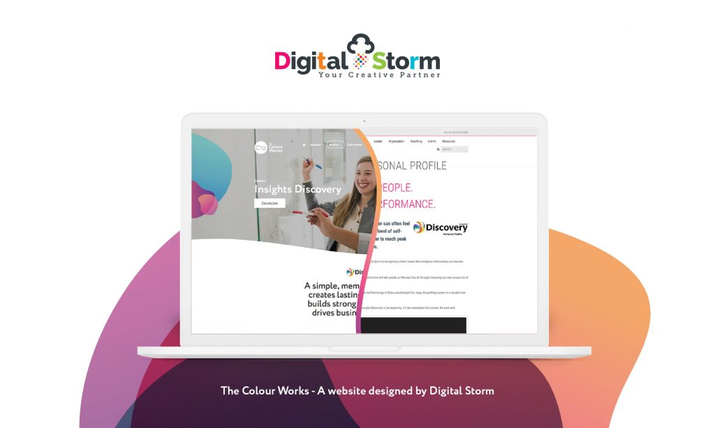 Digital Storm transform The Colour Works - Dorset Chamber of
