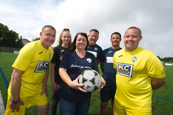 Football for cancer – Bournemouth - benefits from donation