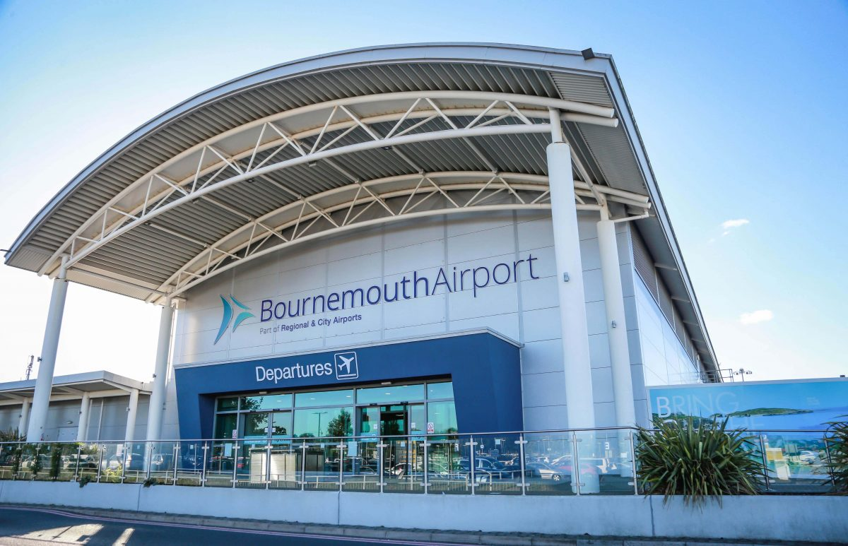 record growth for bournemouth airport owner