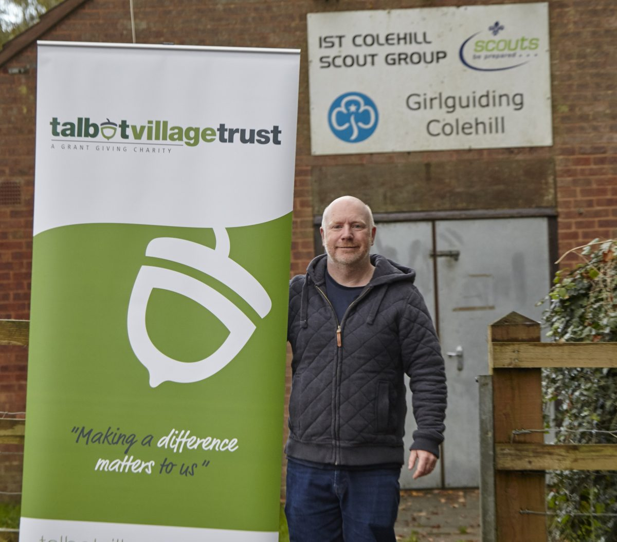 Ashington Group Meeting Hut: Talbot Village Trust Helps With Scout Hut Upgrade